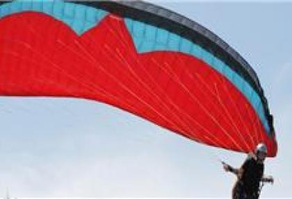 Ordu'da yamaç paraşütü keyfi