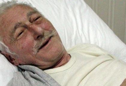 Süleyman Seba yeniden hastaneye kaldırıldı