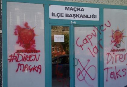 AK Parti ilçe binasına saldıranlar CHP üyesi çıktı