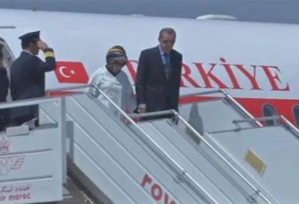 Başbakan Erdoğan Cezayir'de