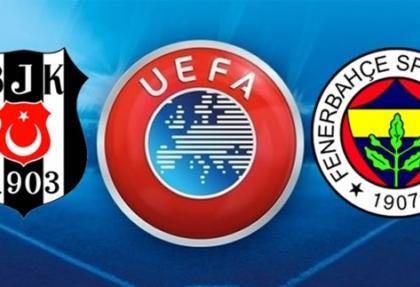 Beşiktaş ve Fenerbahçe'ye men cezası