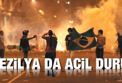 Brezilya'da acil durum