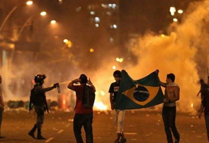 Brezilya'da hükümet düğmeye bastı