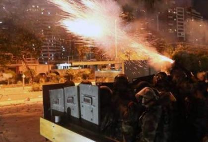 Brezilya'da polis göstericilerle çatıştı