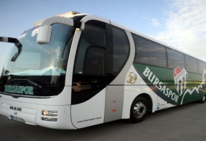 Bursaspor'a 50'nci yıl otobüsü!