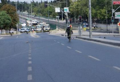 Edirnekapı'da şüpheli koli alarmı