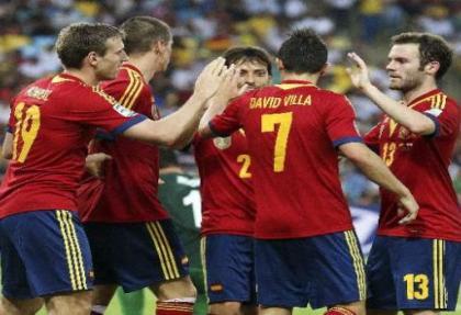 Finalin adı: Brezilya-İspanya
