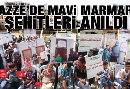 """Gazze'de """"Mavi Marmara Şehitleri"""" anıldı"""