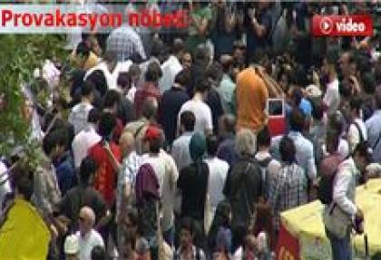 Gezi Parkı'nda cuma namazı
