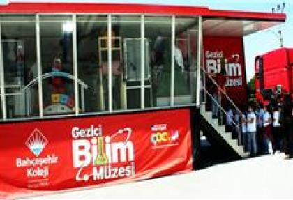 'Gezici Bilim Müzesi' Edirne'de