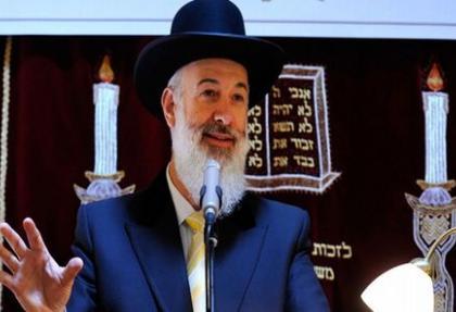 İsrail'in Baş Hahamına yolsuzluk suçlaması