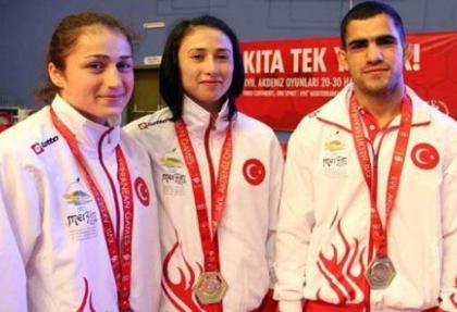 Judo Milli Takımı 3 madalya kazandı