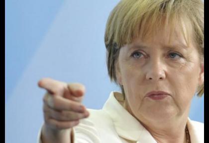 Merkel'den FED'e destek