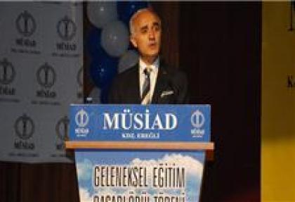 MÜSİAD Genel Başkanı'ndan 'Gezi' açıklaması