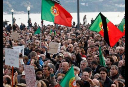 Portekiz'de 24 saatlik genel grev başladı