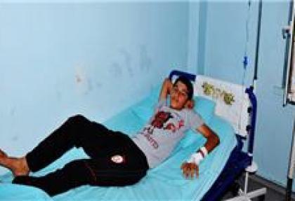 SBS'ye hastanede girdiler