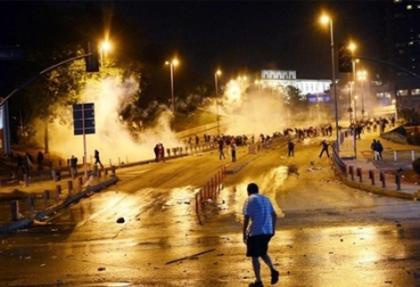 Taksim Gezi Parkı olayları dünya basınında