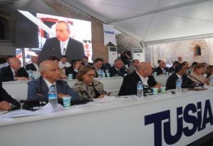 TÜSİAD üyeleri Cizre'de bir araya geldi