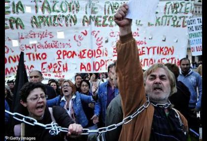 Yunanistan'da 3 yılda 1245 kişi intihar etti