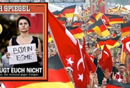 Alman medyasının Gezi Parkı haberleri Türkiye'yi vurdu