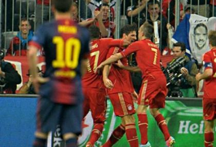 Bayern'le Barcelona karşı karşıya