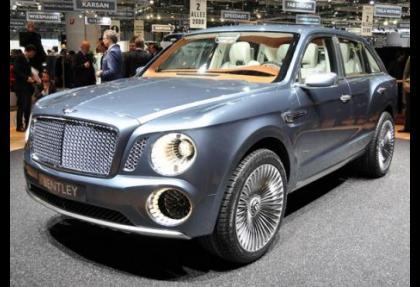 Bentley de SUV üretecek
