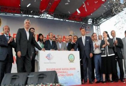 Diyarbakır Havalimanı'nın temeli atıldı