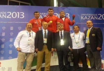 Kayaalp, Rusya'da altın madalyayı kaptı