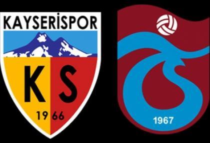 Kayserispor'dan Trabzonspor'a şike iması