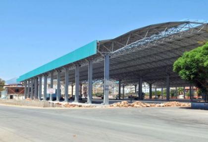 Kepez'e 5 milyonluk kapalı pazar