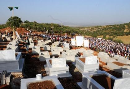 Lice'de teröristler için 'mezarlık' hazırlandığı iddiasına inceleme
