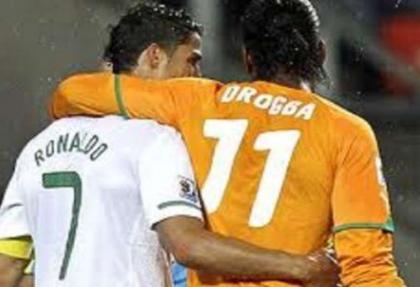 Ronaldo, Drogba'yı geçti