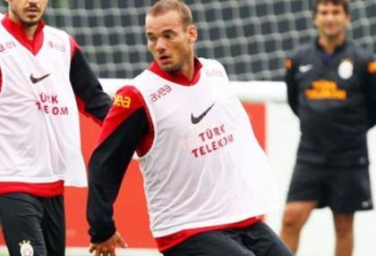 Sneijder: Hazırlıklar çok iyi gidiyor