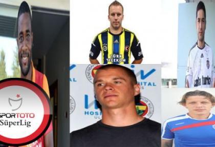 Süper Lig'de transferde son durum