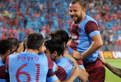 Trabzonspor, galibiyet hasretine son verdi