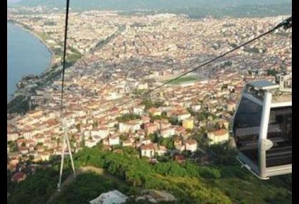 100 bin kişi Boğaz'ı teleferikle geçecek
