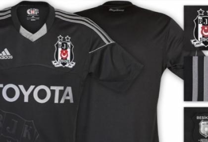 Beşiktaş'ın siyah forması satışa sunuldu