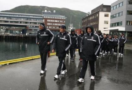 Beşiktaş'ta oyuncular şehir turu yaptı