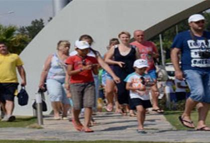 Bodrum'da turist patlaması