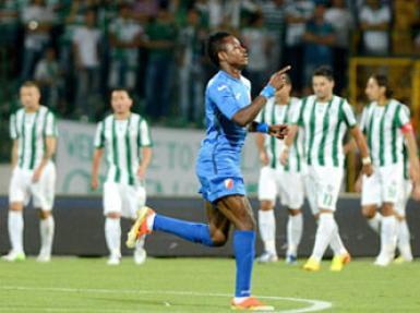 Bursaspor - Vojvodina maçının özeti burada (0-3)
