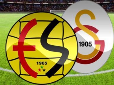 Eskişehirspor Galatasaray maçından Canlı Anlatım