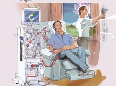 Ev hemodiyalizi müjdesi