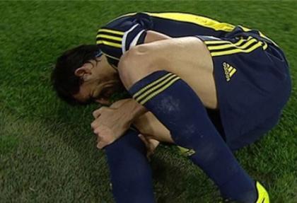 F.Bahçe'de Mehmet Topal sakatlığı korkuttu