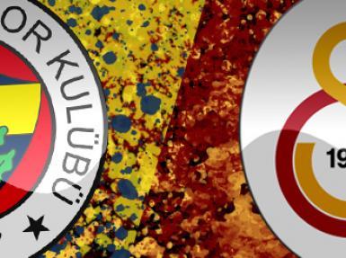 Fenerbahçe ile Galatasaray kapışması