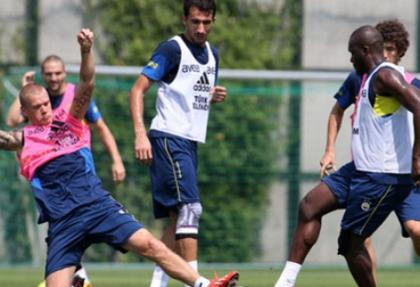 Fenerbahçe'de Mehmet Topal sevinci