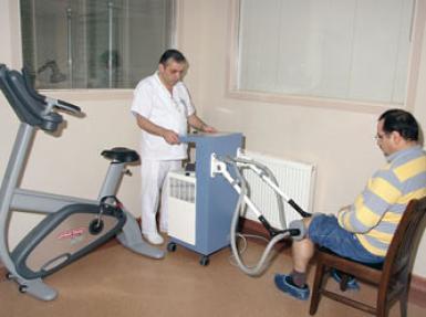 Fizik tedaviye ihtiyaç duyan hastalara servis imkanı!