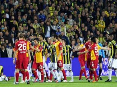 Galatasaray Fenerbahçe maçında 1. gol - Canlı Anlatım