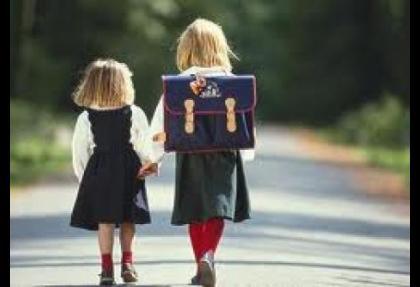 Kesintilerden sonra okula yürüyerek gidecekler