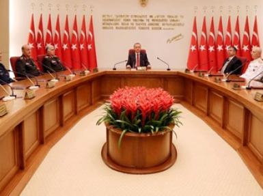 Komutanlar'dan Erdoğan'a ziyaret