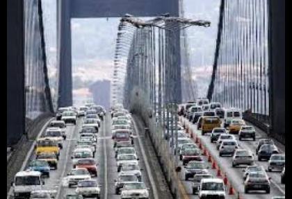 Köprü ve otoyollarda 7 aylık hasılat 463 milyon lira
